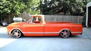 1967 Chevy C-10 Bagged - YouTube