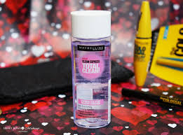 maybelline eye colossal kit review s maybelline clean express makeup remover
