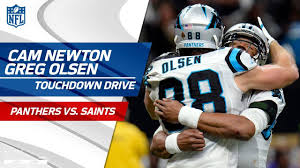Cam Newton & Greg Olsen Connect on Huge ...