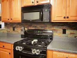 stone kitchen backsplash. Yes Stone Kitchen Backsplash N