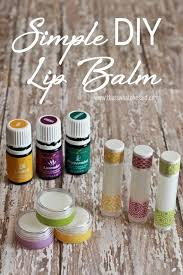 simple diy lip balm recipe at thatswhatchesaid com