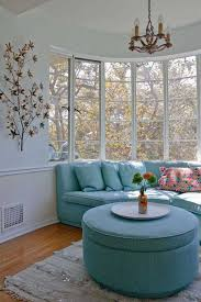 ideas for window seats charming backyard view living room window seats with wall decor chandelier
