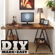 Make your own computer desk Desktop Make Your Own Trestle Desk Kochigoodcom Computer Desk Mica Hardware Make Your Own Trestle Desk