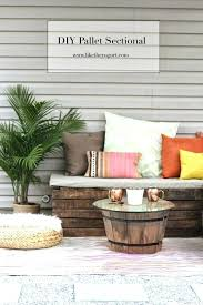 diy patio furniture outdoor furniture pallet sectional for outdoor and easy ideas for patio diy
