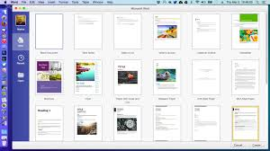 microsoft releases office for mac preview now for  creating a new word document