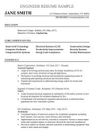 general engineer resume engineering resume sample chegg careermatch