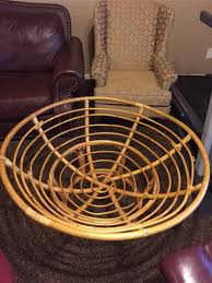 Papasan Chair In Living Room Papasan Chair With Cushion For Sale In Richardson Tx 5miles