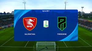 Salernitana vs Pordenone - Serie B [04/01/2021] - PES 2021 - YouTube