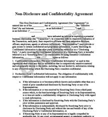 Mutual Confidentiality Agreement mutual non disclosure agreement template non disclosure 16