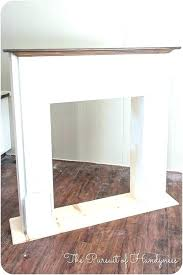faux fireplace good faux fireplace mantels for how to build fake fireplace build fake fireplace mantel