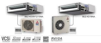 mitsubishi heating cooling units. Brilliant Units Example Of Mitsubishi Electric Heating And Cooling SEZ Series Ceiling  Concealed Heat Pumps Inside Units