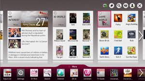lg tv apps. lg tv apps a
