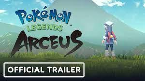 Pokemon Legends Arceus - Official Trailer - YouTube