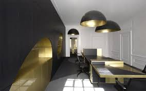 luxury office interior design. Glamorous-modern-office-interior-design Luxury Office Interior Design -