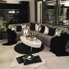 Black Living Rooms Ideas Inspiration. View Larger