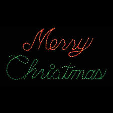 Merry Christmas Light Up Signs Outdoor Merry Christmas Rope Light Sign Google Search Merry