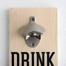 high grade zinc alloy bottle opener pre assembled