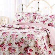 Laura Ashley French Country Quilts, Bedspreads & Coverlets | eBay & Laura Ashley Lidia Quilt Set,Pink,Full/Queen, Machine Washable,100 Adamdwight.com