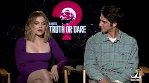 Lucy Hale & Tyler Posey Truth or Dare Interview - YouTube