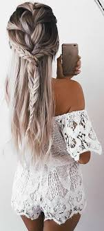 Pinterest At Prettyonfleek účesy Dlouhé Vlasy Vlasy A