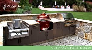 atlantic outdoor living is your outdoor kitchen design center