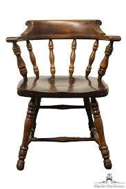 high end used furniture ethan allen antiqued pine old tavern mate s chair 12 6001