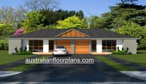 4 bedroom duplex house plan 190du 2 x