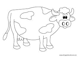 Disegno Mucca Disegni Da Colorare