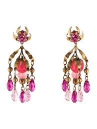 clip on chandelier earrings