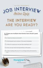 Quiz The Interview Are You Ready Anything Job Hunting