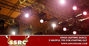 stage lighting basics 5 helpful tips for starting out