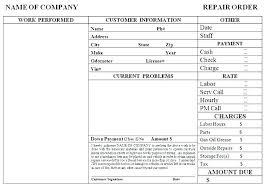 garage invoice template automotive receipt template auto repair invoice form free auto