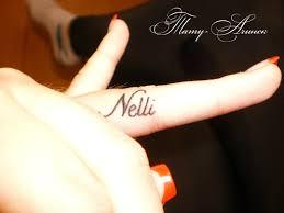 имя даша на пальце фото татуировок