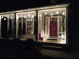 Easy Way Hang Christmas Lights Outdoor Snowflake Icicle Lights Outdoor