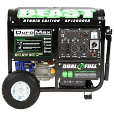Duromax XP EH 9 500 Watt 18 HP Dual Fuel Powered Portable