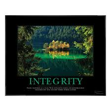 inspirational signs for office. Attitude Posters - Integrity Island Motivational Poster Inspirational Signs For Office P