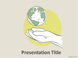 Free Save Earth Powerpoint Template Download Free