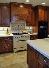 a beautiful kitchen backsplash