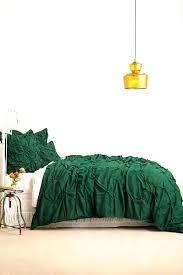 forest green bedding emerald duvet cover linen set cotton extraordinary bedrooms