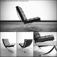 Barcelona Chair Style Panton Chair By Ludwig Mies Van Der Rohe Design Pinterest