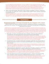Technical Skills Cv Oil And Gas Resume Sample Template Resumewriter Sg