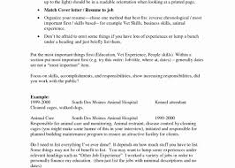 How To Organize Your Resume Awesome What Order Should Your Resume