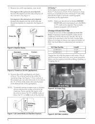 Kohler Engine Oil Chart Kohler Courage Sv720 User Manual Page 8 20 Also For