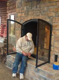 outdoor fireplace replacement parts custom see through wood burning indoor outdoor fireplace outdoor gas fire pit