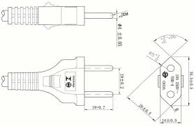 2 prong plug wiring diagram international standards reference Pollak Trailer Plug Wiring Diagram prong plug power cord 2 prong plug power cord yhb 4 drawing pollak trailer plug wiring diagram images pollak trailer plugs wiring diagram