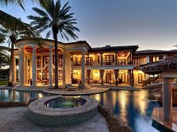 22 million mediterranean waterfront estate in fort lauderdale fl homes of the rich