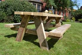 fabulous picnic bench als 13 table with benches astonishing wooden attached round plans pdf folding free wood detached chair build small tables for