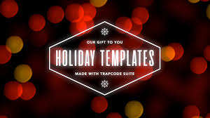 Holiday Templates Red Giant Free Holiday Templates