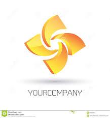 Yellow Logo Design Modern Logo Design Stock Vector Illustration Of Modern