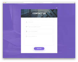 Sample Html Form Design 30 Best Free Html Contact Forms With Fresh New Designs 2020